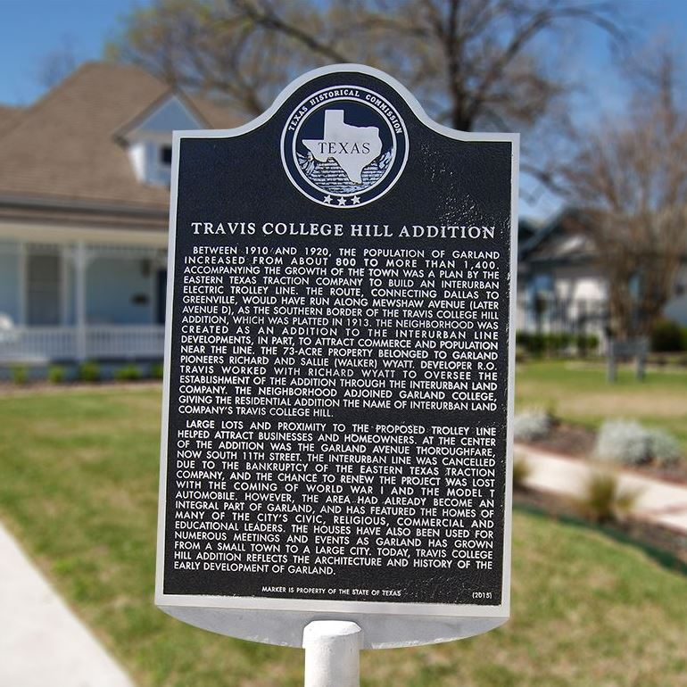 Travis College Hill tile pic