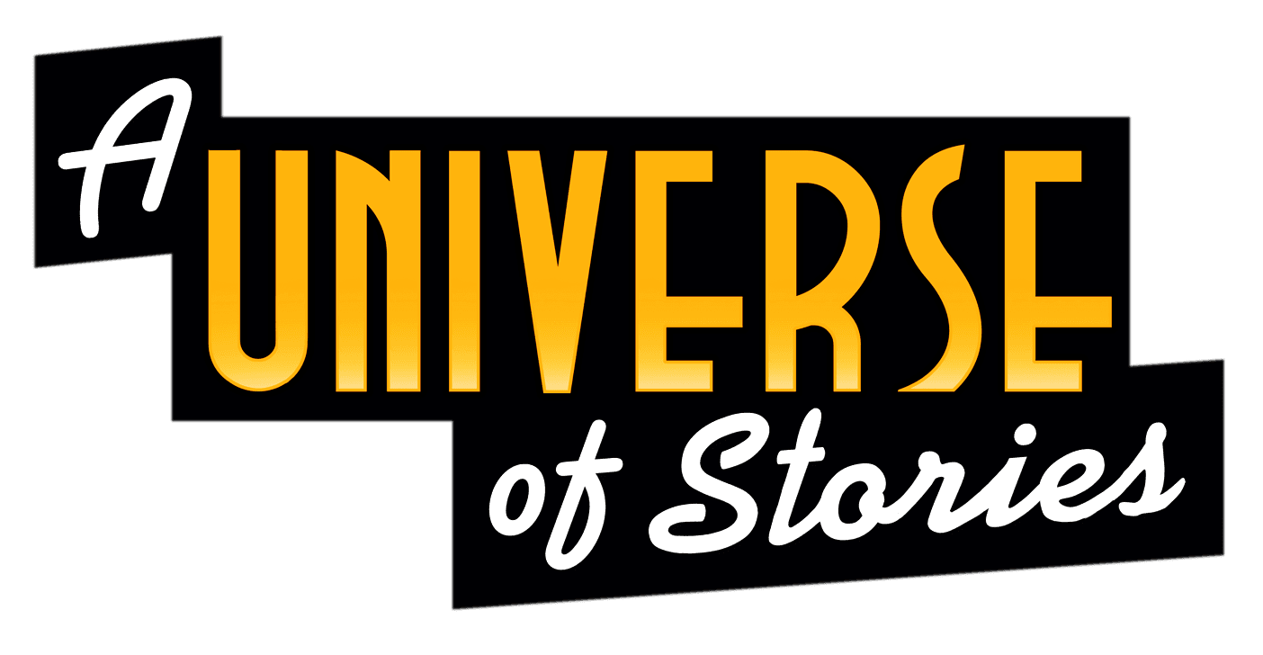 Slogan image for A Universe of Stories