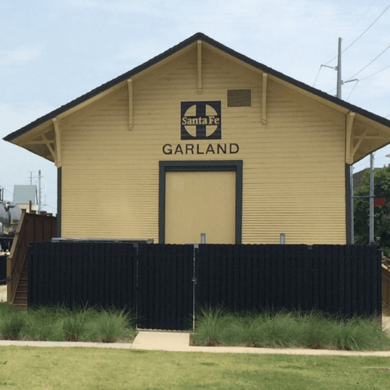 Old Yellow Train Depot