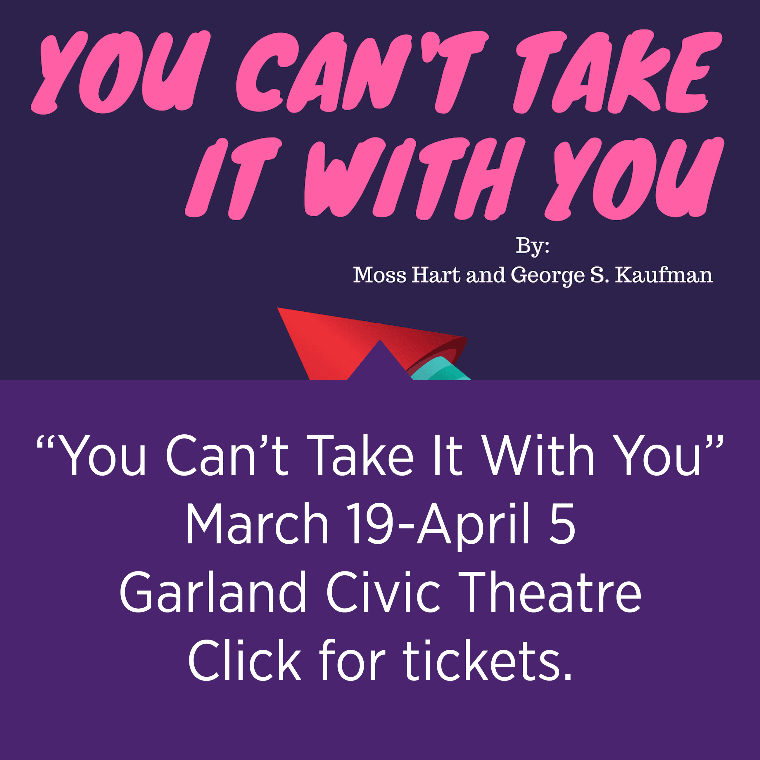 "Garland Civic Theatre's ""You Can't Take it with You"""