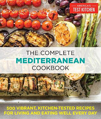 Book jacket for The Complete Mediterranean Cookbook