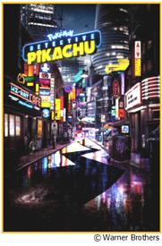 Movie poster for Detective Pikachu